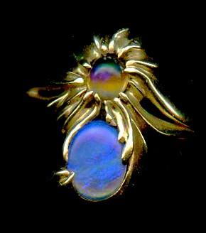 Opal 18kt. Gold