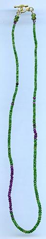 Tsavorite Garnet Rubilite Garnet