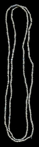 Chinese Freshwater Pearls With White Sapphire and Other Gems