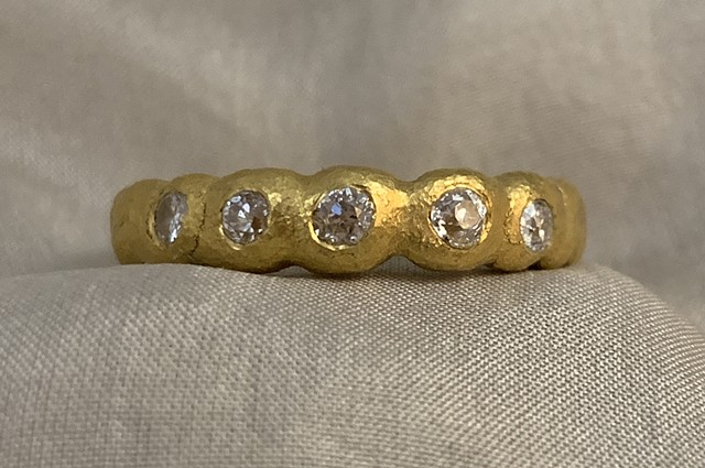 Diamonds 24kt. Gold