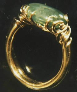 Imperial Jade with 14kt. Gold