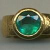 Emerald  24kt. Gold