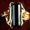 Tourmaline  18kt. Gold
