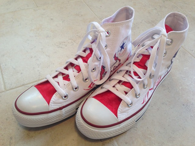 St. Louis Cardinals/Yadier Molina Friday Shoes
