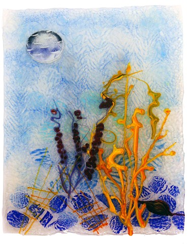 seahorses, coral reef, ocean, sea