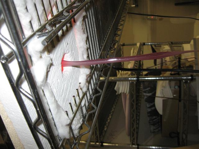Pulling vitrigraph stringer