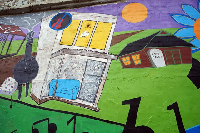 Clarksdale Mural Project: Detail 1