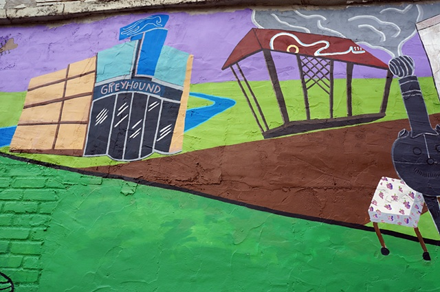 Clarksdale Mural Project: Detail 4
