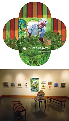 Art seed pack and exhibition.