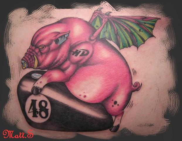 jerry pig