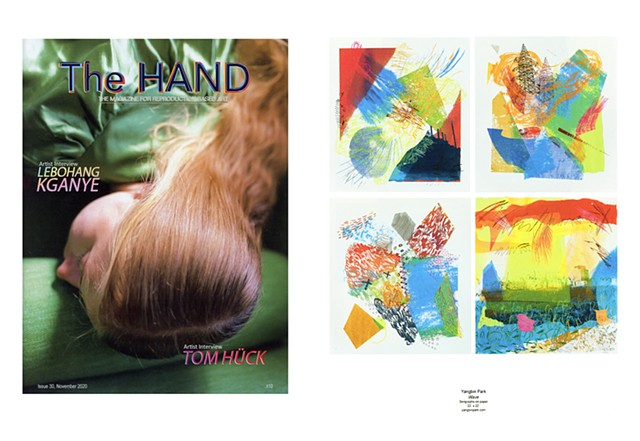 The HAND Issue 30 contributing artist