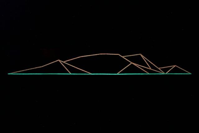 mountain (study) 3.2.13  [night view]