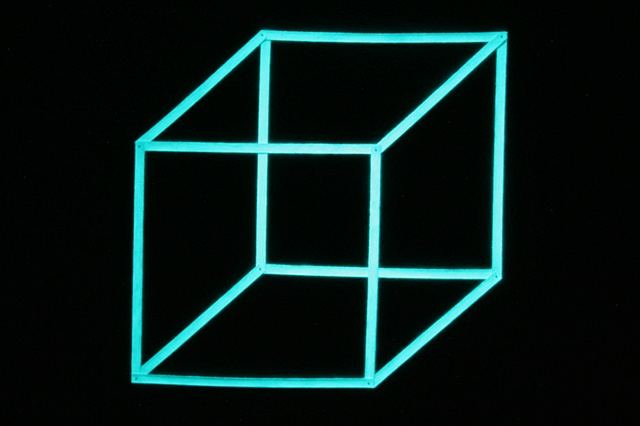 necker's cube (night view)