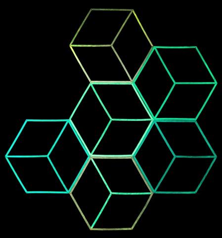 honeycomb variation (night view)