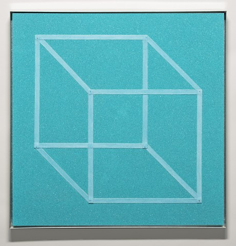 necker's cube (blue-teal)