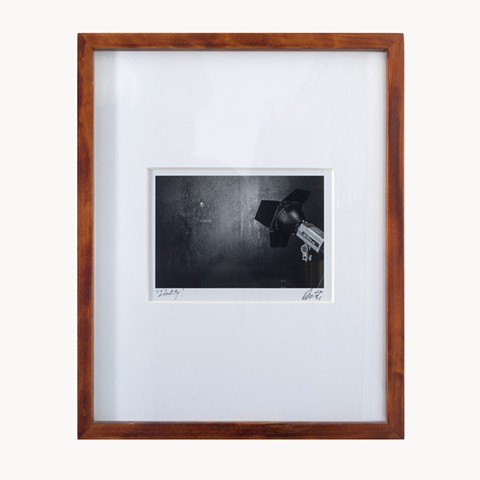 A medium B&W digital inkjet print