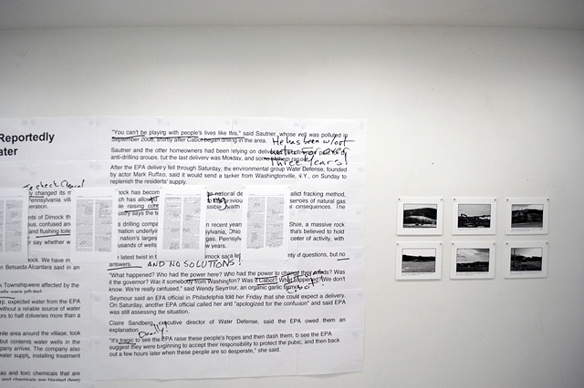 a small site-specific installation addressing power, exploitation and nostalgia
