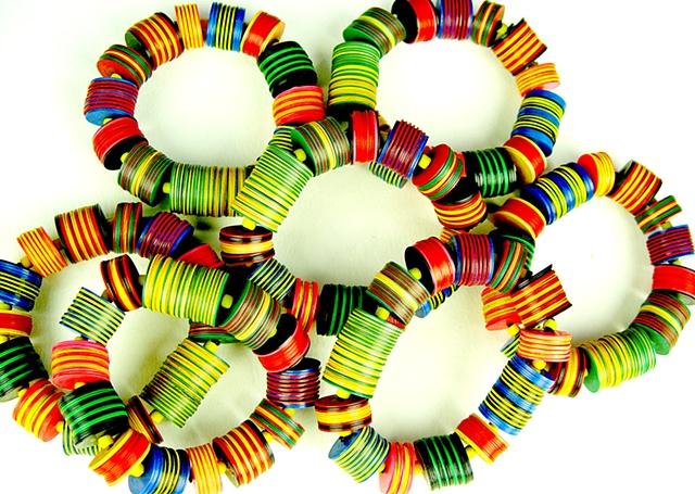 African Beaded Bracelets