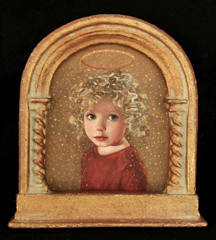 icons, saint, halos, child, Ingrid EP Wharton