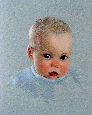 Karin Weidlein, pastel