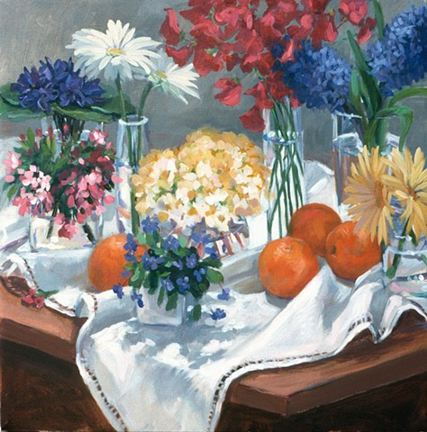 Jumble of Flowers