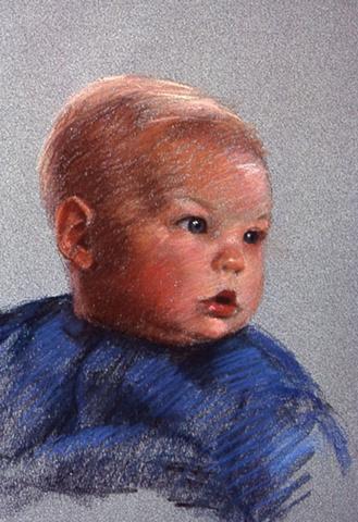 Christopher Weidlein, pastel
