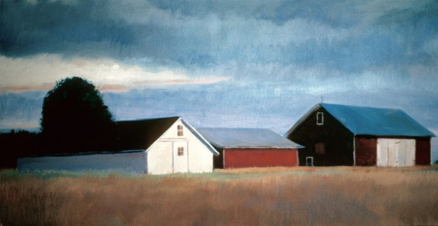 Richard Hendricson, Bridgehampton NY, farm buildings, weatherman