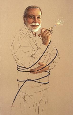 Jim Able, air brush artist