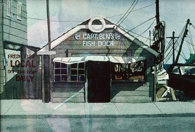 Point Lookout NY, fish store