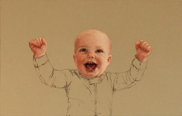 Anika Wharton, Happy, baby, smile, Lucille Berrill Paulsen