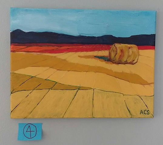 Alberta Wheatfield (trial series for commission)