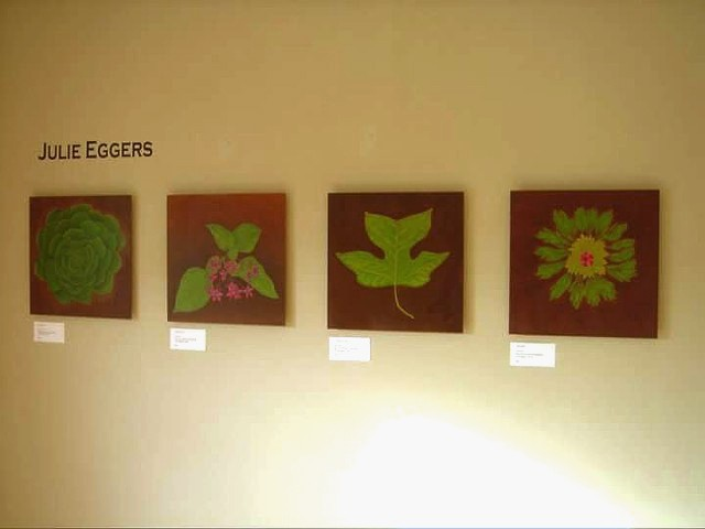 Photo of my work from the Second Irvington Invitational Art Exhibition curated by NW artist: