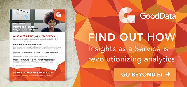 Business Intelligence Whitepaper  Design + Banner ad  Client: GoodData