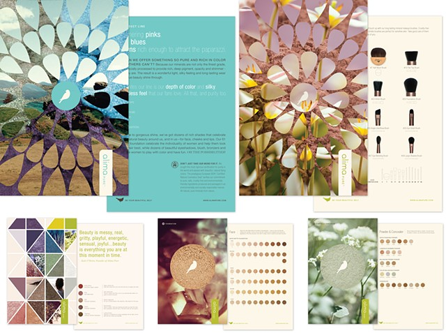 Alima Pure product card set  Client: Fancypants Design
