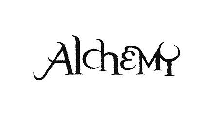 Aliens Alchemy logo  for Dark Horse Comics