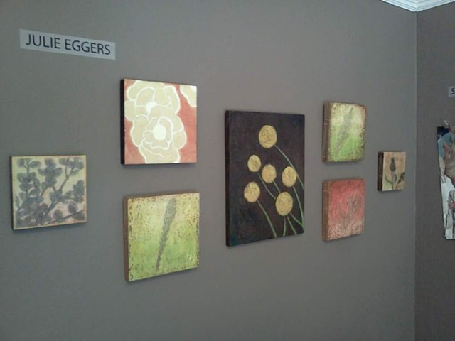 Photo of my work from the Fifth Irvington Invitational Art Exhibition curated by NW artist: