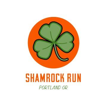 Logo  adidas' Shamrock Run for Meaty Design