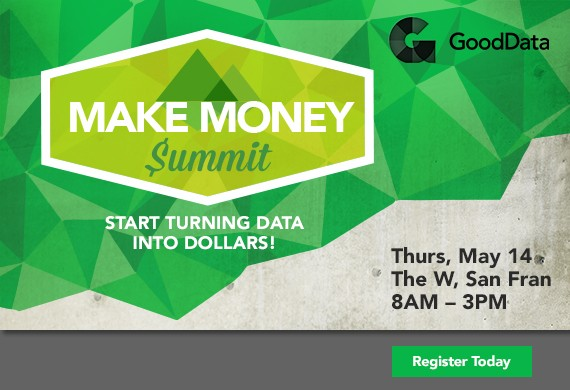 Event Logo + Website + Emails for the Make Money Summit  Client: GoodData
