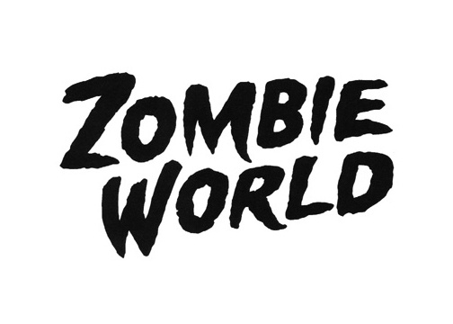 ZombieWorld logo  for Dark Horse Comics