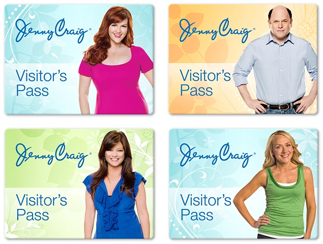 Jenny Craig  Visitor badges