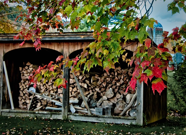 "Ready for Winter ""The Woodbox"""