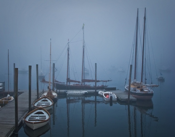 Wharf in Fog Section R