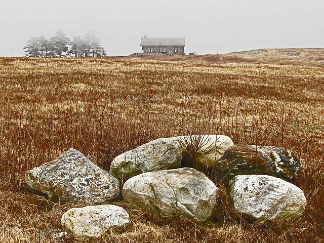 Beech Hill House and Rocks