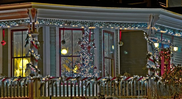 Holiday Window Detail  #1