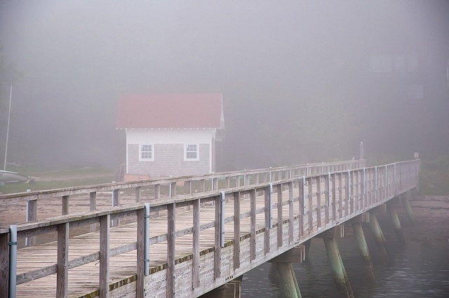 Wharf and Red Roof