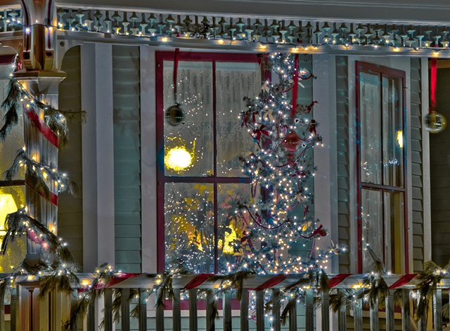 Holiday Window Detail  #2