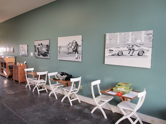 Installation photo from Porchlight Coffee