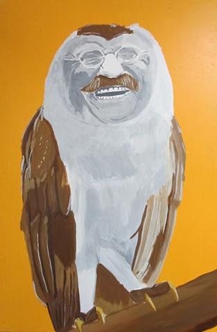 Teddy Roosevelt Owl
