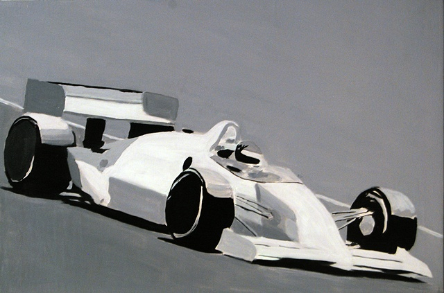 Open Wheel Race Car