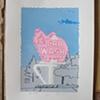 Pink Elephant (Blue)